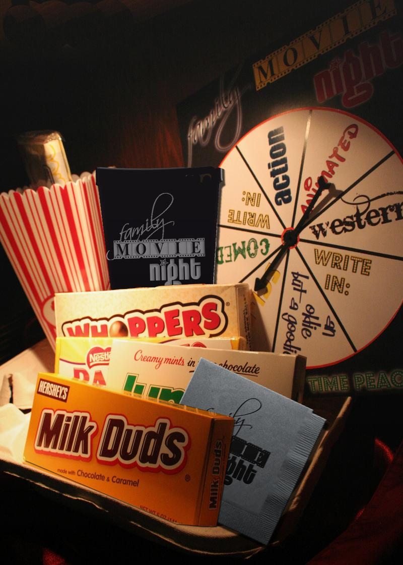family movie night package