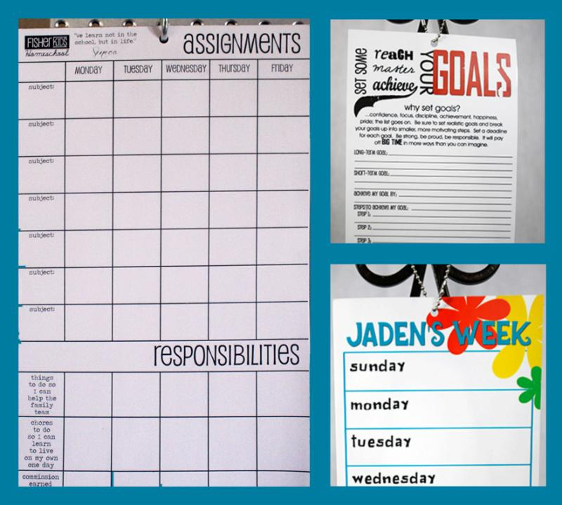 chore charts for kids, fisherkids