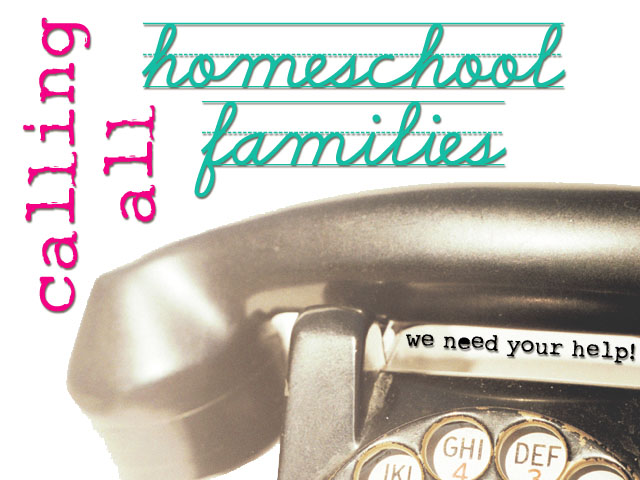 homeschool families