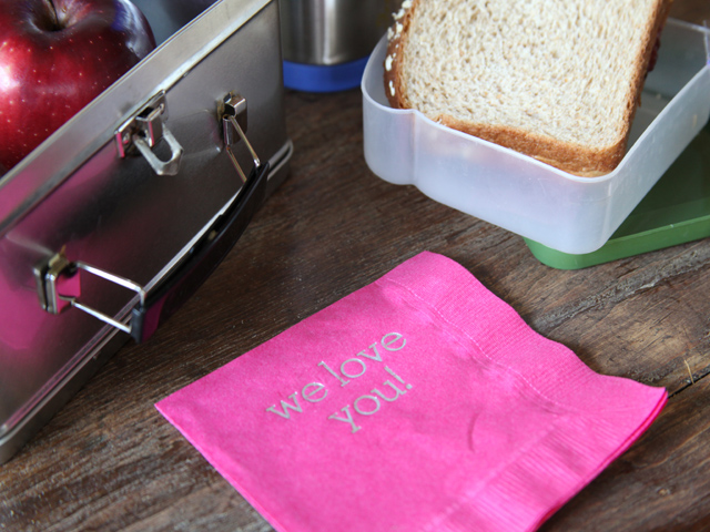 lunchbox napkins