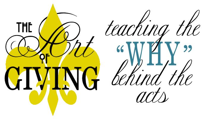 art of giving