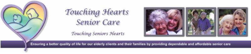 Touching Hearts Senior Care Banner