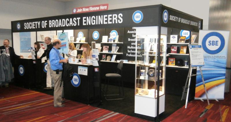 SBE Booth at the 2015 NAB Show