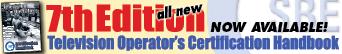 Certified Televisions Operators Handbook order here