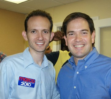 Richard with Marco Rubio