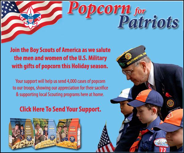 Popcorn for Patriots