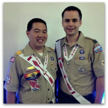 Mike Card and Bill Chin