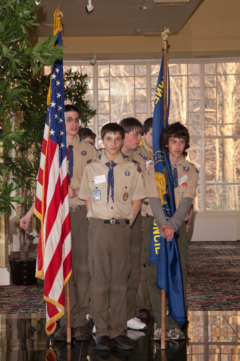 201104Scouts in ceremony