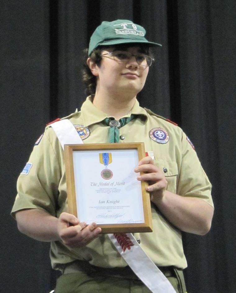 2011 05 18 Ian Knight Medal of Merit