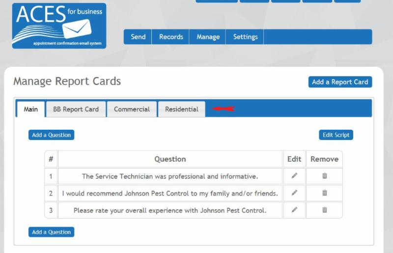 multiple report cards thank yous referral requests