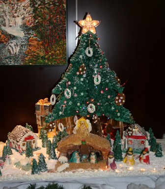 Gingerbread House by Mary Rice Group
