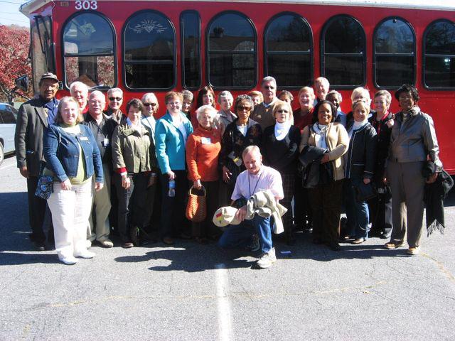 Bishop spouses visit Cherokee 11-2-11
