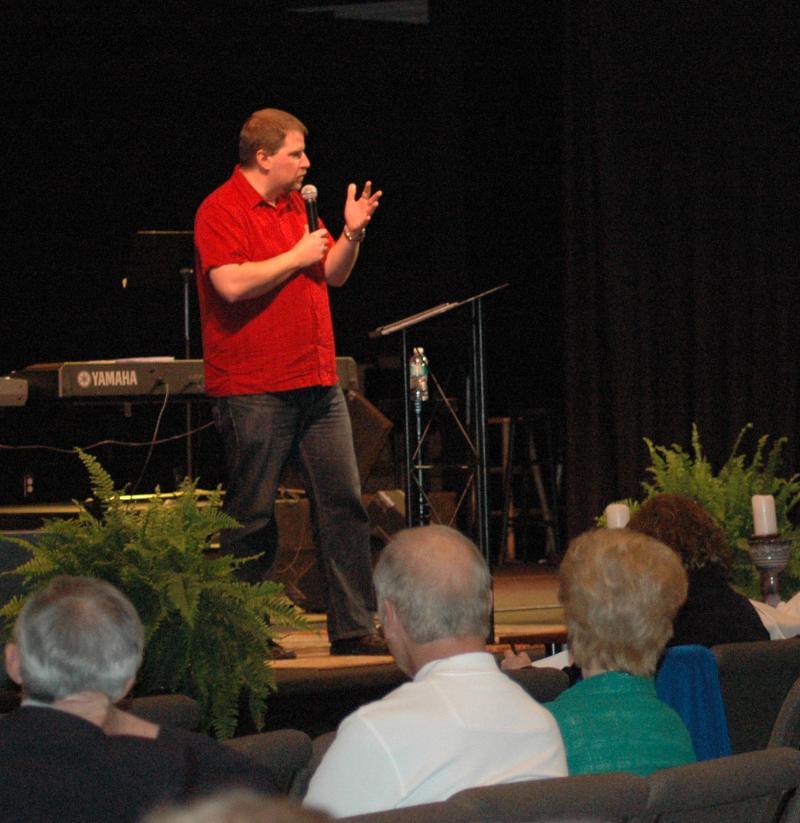 Dave Hood speaks 3-21-12