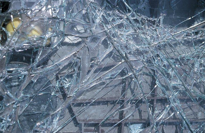 cracked car window 4-3-13