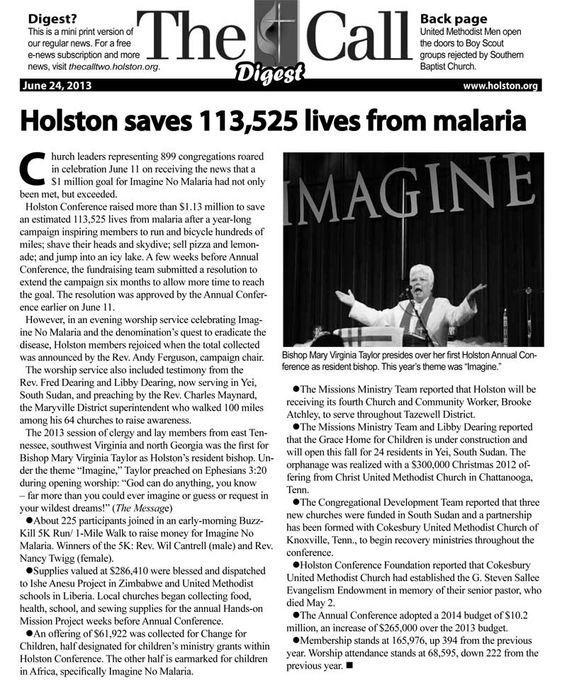 Digest June 24, 2013