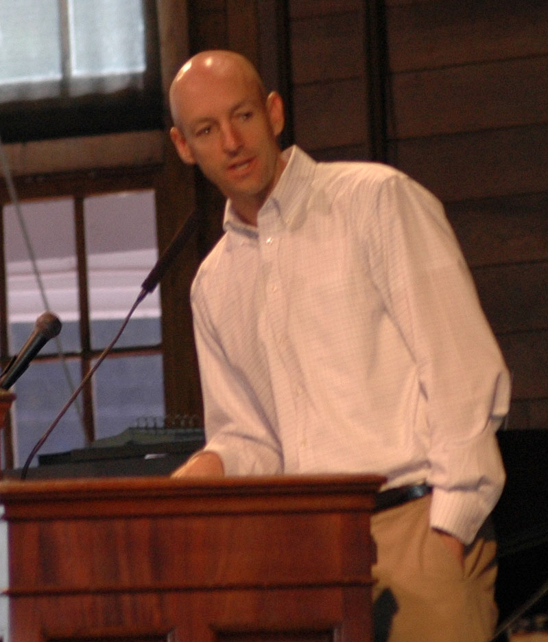 John Tate at Annual Conference 8-4-12