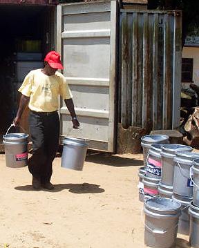 Liberia receives buckets 10-10-11