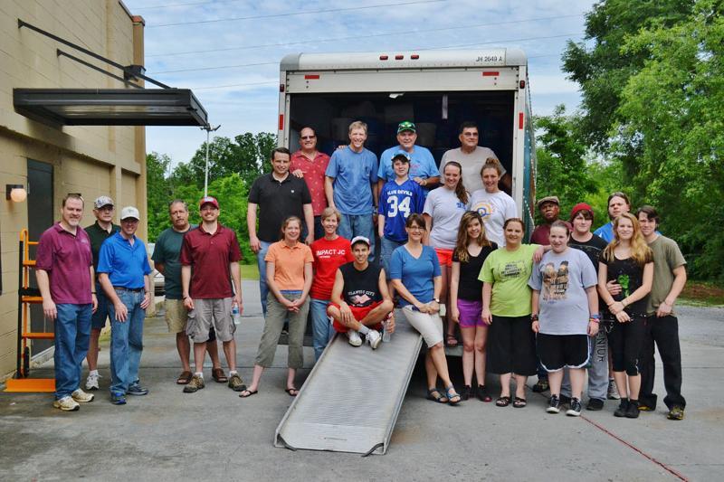 Johnson City volunteers 6-8-13