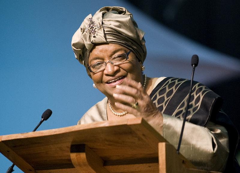 Ellen Johnson Sirleaf UMNS 10-10-11