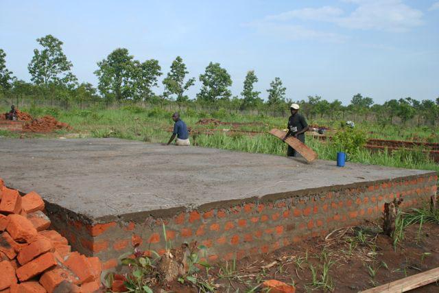S.Sudan orphanage construction 4-3-13