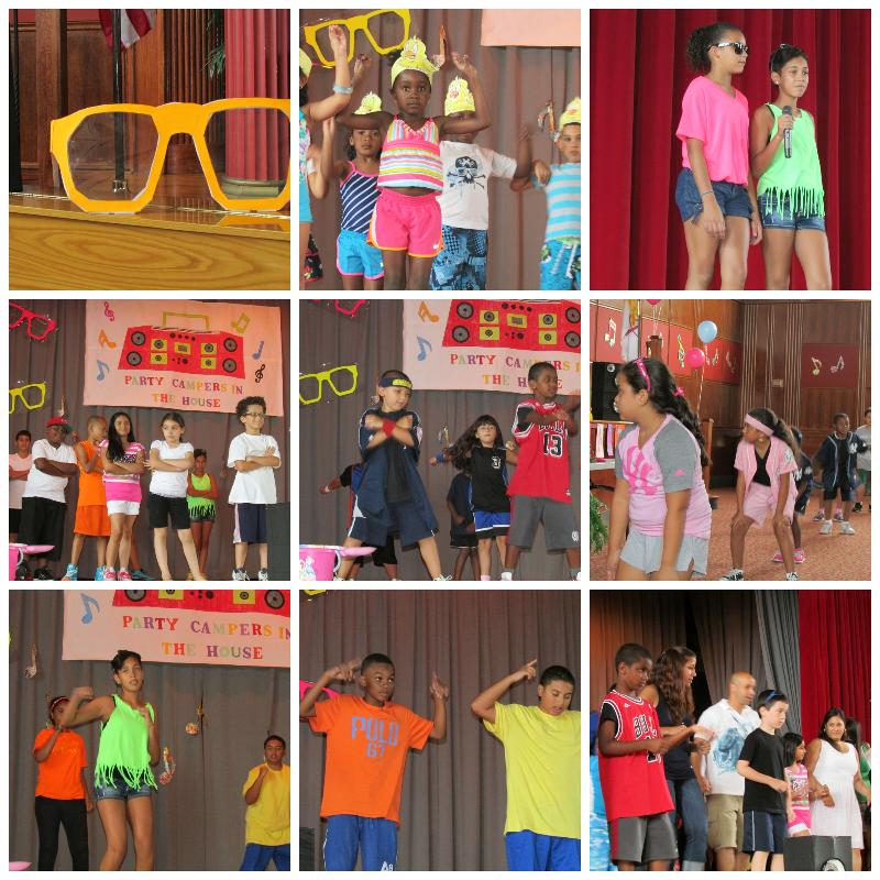 Summer Camp 2013 Dance Show Collage