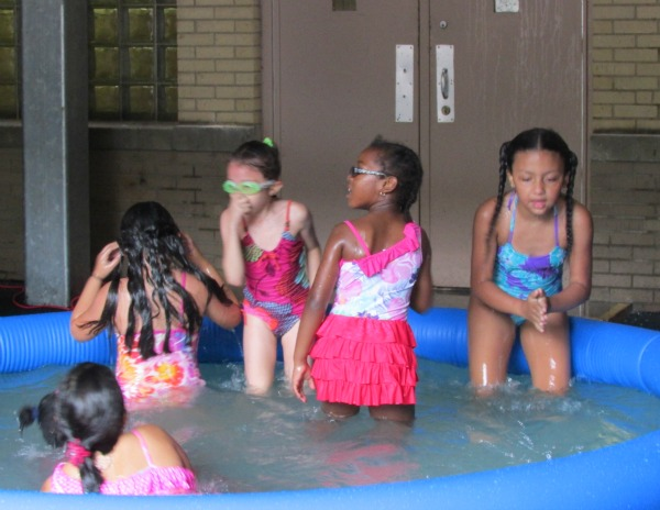 Summer Camp Girls in the Swim