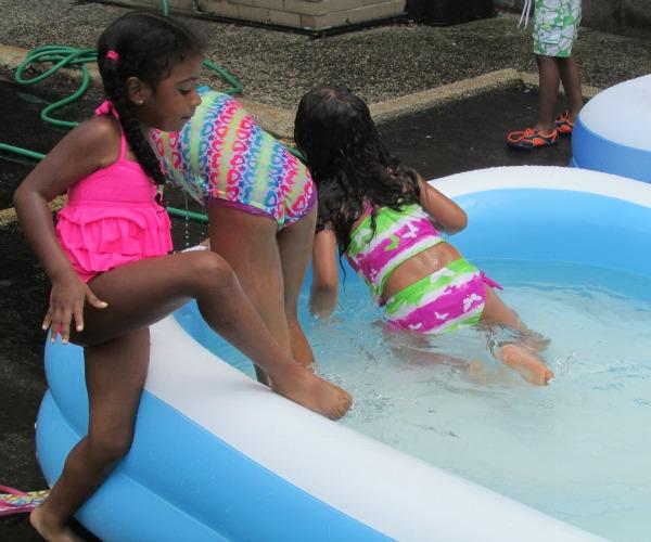 Summer Camp Swim Toe in First
