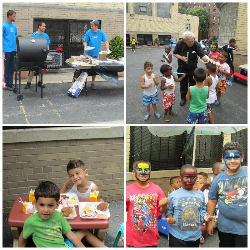Summer Camp BBQ Collage