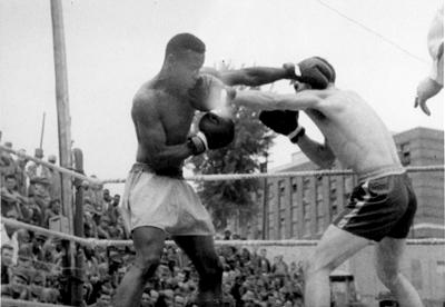 Sonny Liston Boxing at MSP