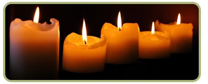 Taize candles