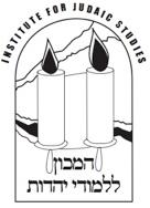 Institute for Judaic Studies logo
