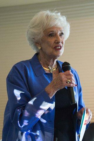 Diane speaking