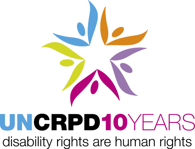 UN CRPD 10 Year celebration logo