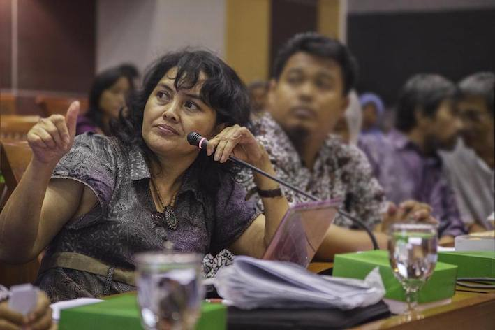 During Day 2 of the NUI Galway Summer School on Disability Law, Yeni Damayanti spoke about the fight to reform laws barring persons with psychosocial disabilities from voting.