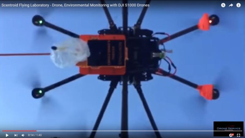 Drone Environmental Monitoring
