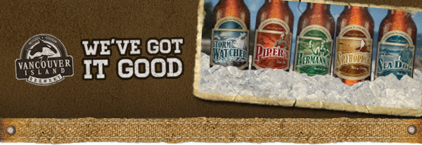 Vancouver Island Brewery News Header
