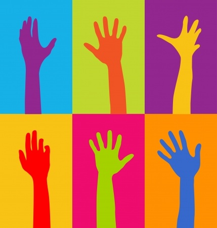Image credit: <a href='http://www.123rf.com/photo_17800265_colorful-hands.html'>pauljune / 123RF Stock Photo</a>