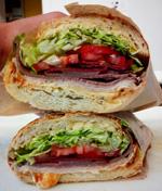 Ike's Place sandwich