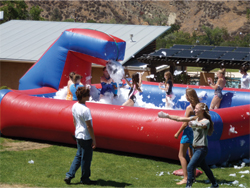 Camp Celiac Foam Pit 2012