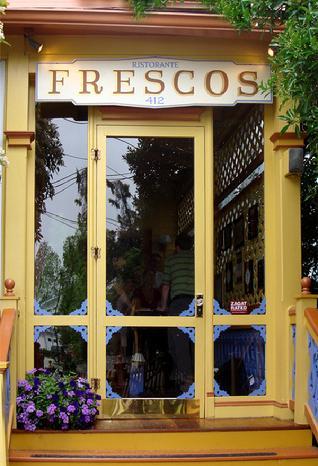 Frescos Front Entrance