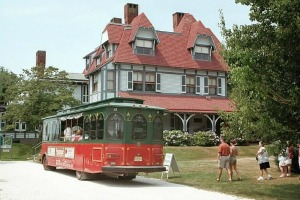 Trolley at Physick Estate