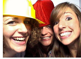 Homecoming photo booth image