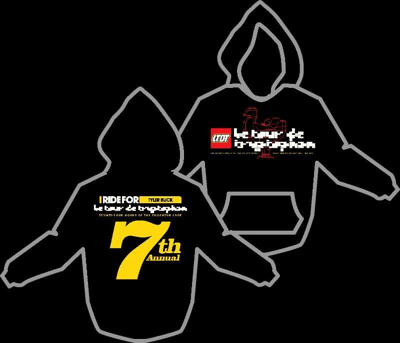le tour 10 hoodie black