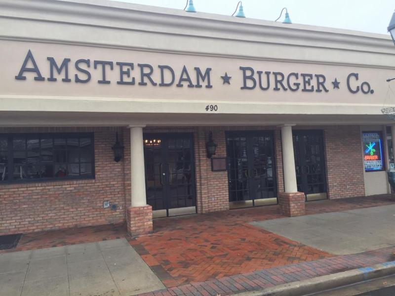 Amsterdam Burger 5 Towns