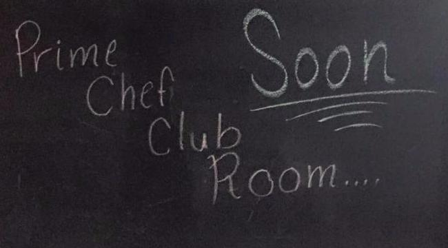 Prime Chef Club Room