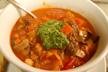 minestrone soup bowl