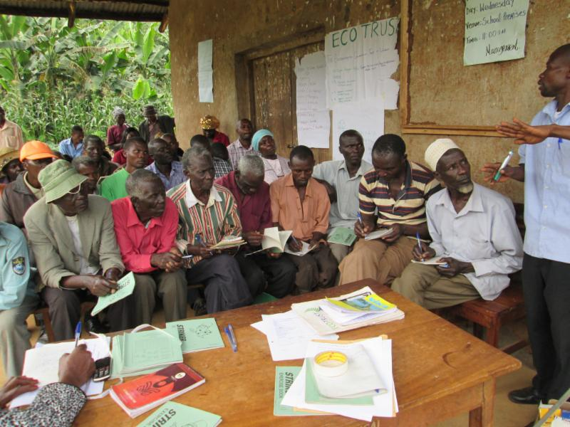Farmer training in Eastern Uganda June - July 2015
