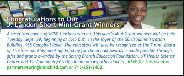 Mini-Grant Winners