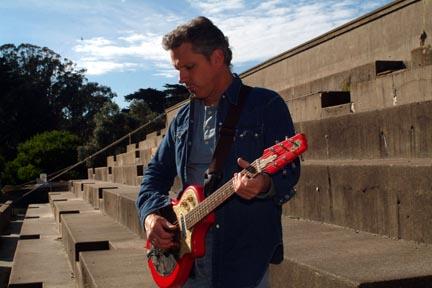 Jeffrey Halford guitar playing pic