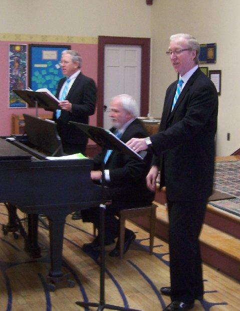 Bethany baritones singing 2nd Sunday concert